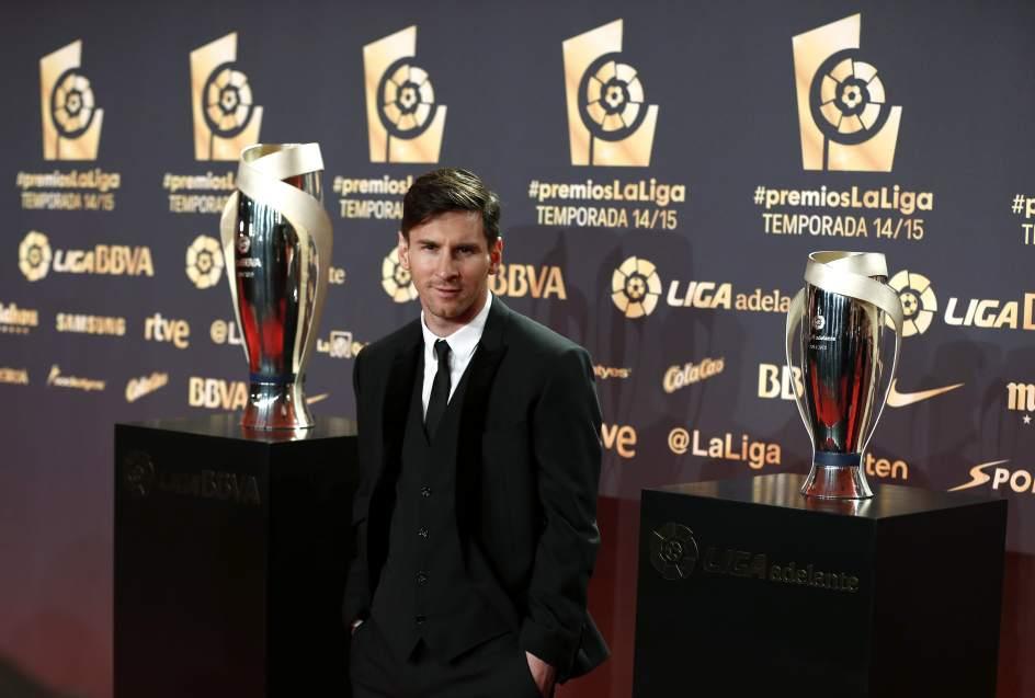 Месси признан лучшим игроком испанского чемпионата в шестой раз